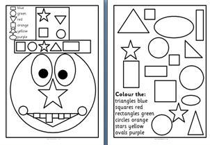 Printables Printable Shape Worksheets worksheets free printable shape laurenpsyk ks1 and ks2 maths resources space