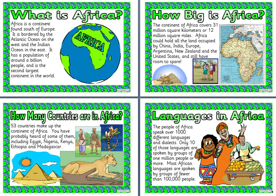 Information On Africa 29