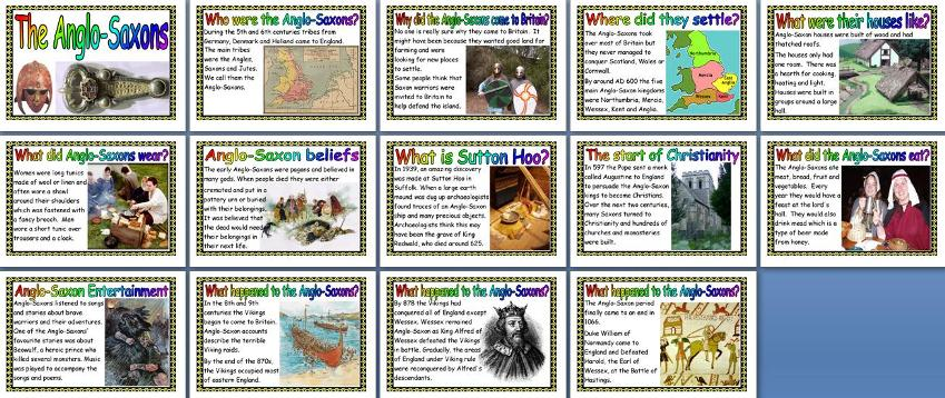 KS2 History Teaching Resources - The Anglo Saxons ...