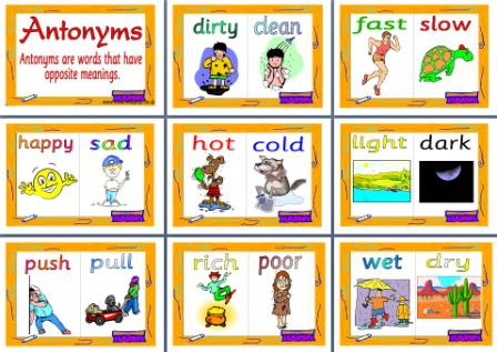 Antonyms - Lessons - Tes Teach