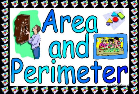 Free printable area and perimeter teaching resource classroom display posters