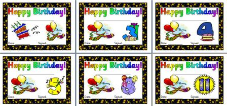 photograph regarding Printable Birthday Certificates titled Immediate Present Coaching Components Birthday Community forums