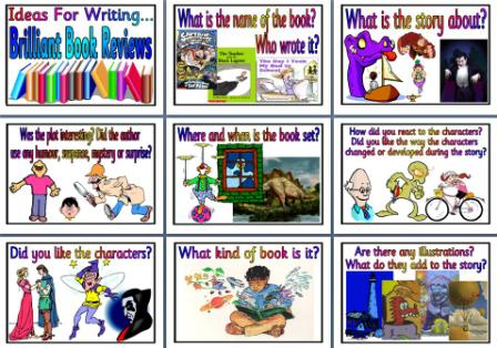 how to write a good book review ks2