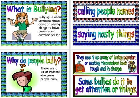 Free Printable Bullying Posters for Classroom Display and Discussion