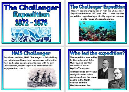 Free printable Challenger Expedition Posters