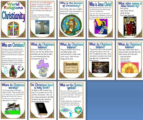 KS2 Religious Education Teaching Resources - Christianity - World ...