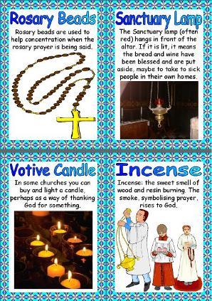 ... Resources - Christianity - Christian Symbols Printable Poster Set
