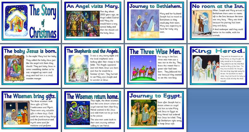 Story Of Christmas.Ks2 Religious Education Teaching Resources Christianity