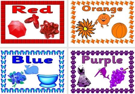 KS1 Colours Posters
