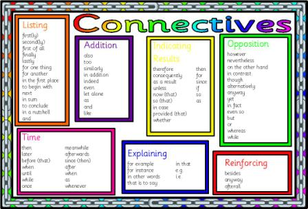 Connectives Worksheet Preview Images | FemaleCelebrity