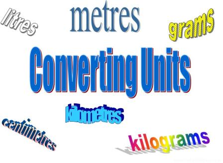 Free PowerPoint Presentation on Converting units (multiplying and dividing by 10, 100, 1000)
