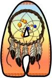 Free printable Native American Dreamcatcher background instant display digital lettering sets for classroom display.