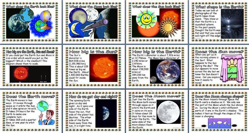 Ks2 Science Teaching Resource Earth Sun And Moon Y5 Printable