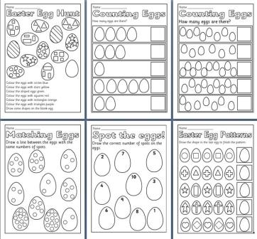 math worksheet : free printable easter teaching resources including easter  : Printable Maths Worksheets Ks2