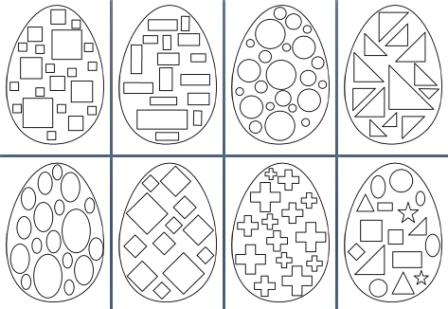 picture about Free Printable Easter Eggs identified as Totally free Printable Easter Components
