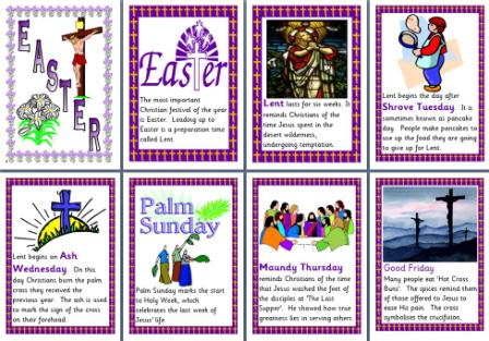 photo relating to Holy Week Activities Printable identified as Cost-free Printable Easter Coaching Components, like Easter