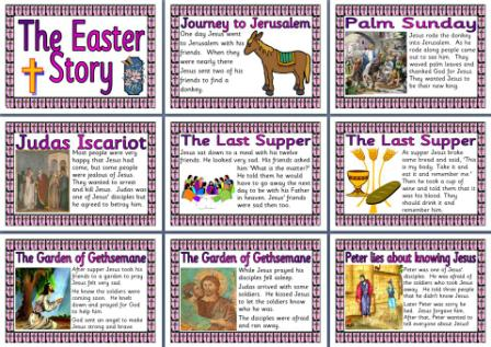 The Easter Story Printable Pages