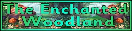 Free printable Enchanted Woodland classroom display banner