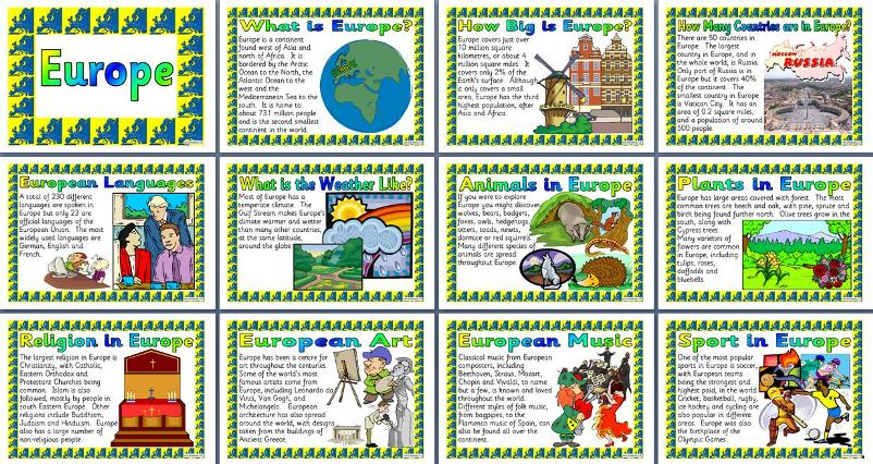 Geography KS2 Teaching Resources - Continents of the World ...