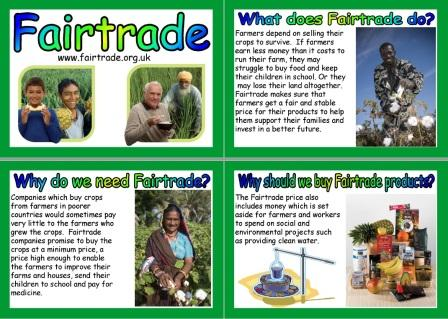 Free Printable Fairtrade Posters