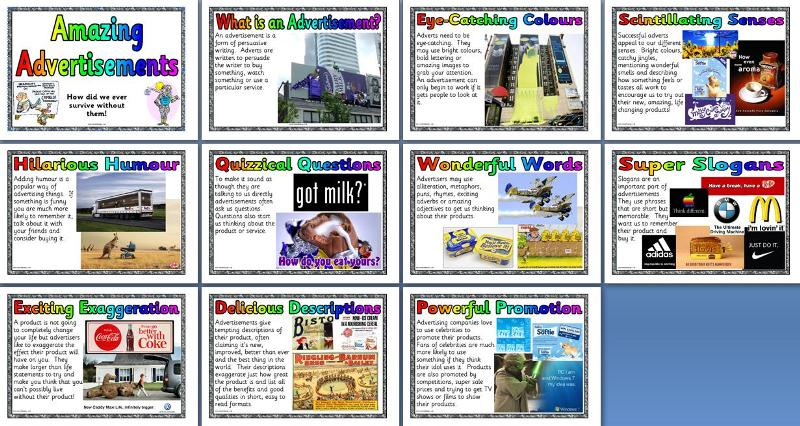 ks literacy resource features of advertisements texts posters  printable teaching resource all about advertisements their features and purpose