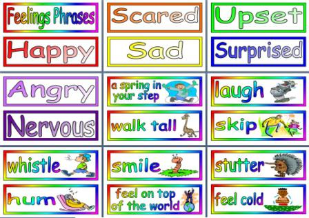 Free Printable Feelings Phrases Resource