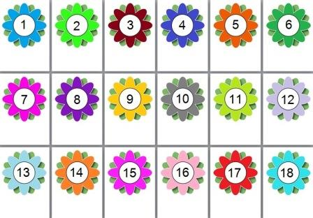 graphic about Large Printable Numbers 1-20 identify Quick Exhibit Education Materials Amount Maths