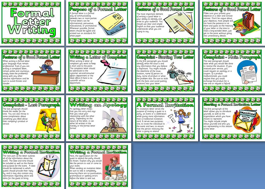 Ks2 literacy resource features of formal letter writing create a free printable formal letter writing teaching resource instant display posters for classroom display altavistaventures Choice Image