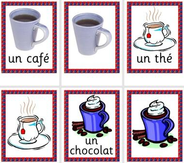 Free MFL French Resource French Drinks