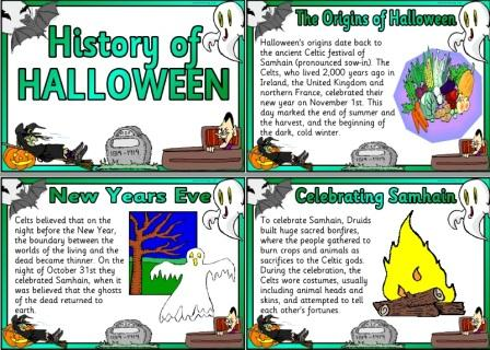 Collection of Free and low cost Downloadable Halloween Teaching ...
