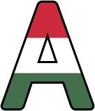 Free printable Hungarian Flag, Hungary flag background instant display, classroom display lettering sets.