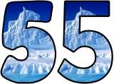 Iceberg background numbers