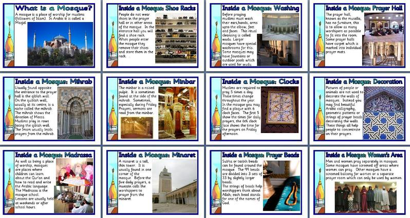 ks2 re teaching resource inside a mosque printable classroom display posters for primary schools. Black Bedroom Furniture Sets. Home Design Ideas