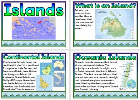 Free printable Islands Geography Teaching Resources