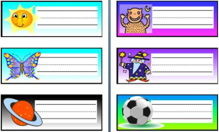 Free and low cost teaching resources posters to cover for Door name tag template