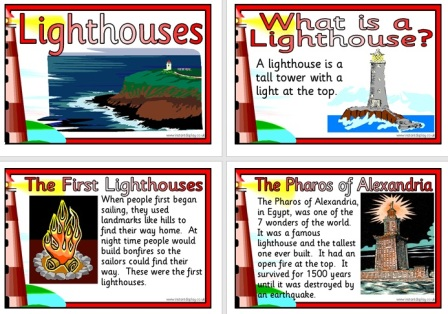 Free Printable Lighthouses Information Posters