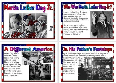 Free Printable Martin Luther King Jr Biography History Resource