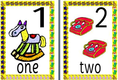 picture about Printable Numbers 1-10 titled Immediate Present Education Materials Amount Maths