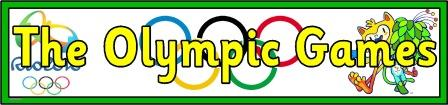 Free printable Olympic Games 2016 banner.