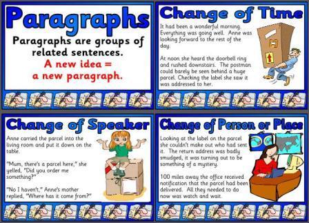 tip top paragraphs worksheet