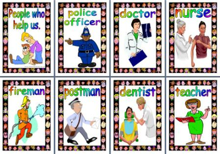 People Who Help Us Printable Posters for EYS and KS1