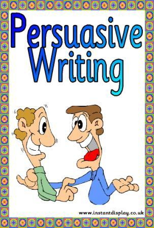 ks3 persuasive writing