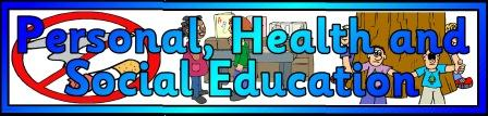 Personal Health and Social Education Banner