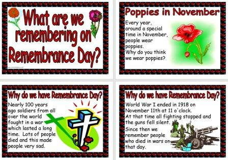 Free Printable Remembrance Day Poppy Day Posters