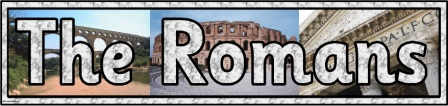 Image result for the romans banner