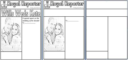 Newspaper article templates by jesspon teaching resources tes.