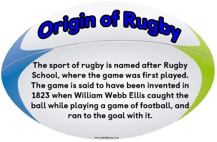 Set of 14 free Interesting Rugby Facts on Rugby balls.  Create a display or use for comprehension, Rugby Quiz etc.  Free to download and print.