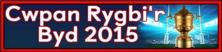 Free printable Rugby World Cup Banner, Welsh Language