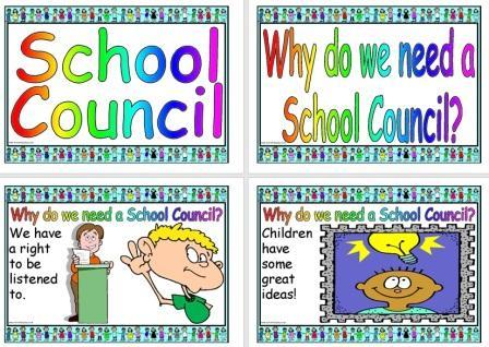 Free Printable School Council Information Posters Teaching Resource PHSE