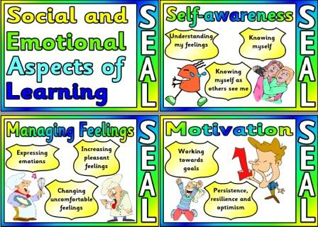 Free Printable Social and Emotional Aspects of Learning SEAL posters